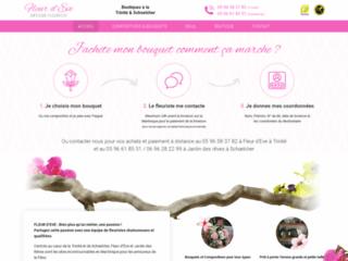 Bouquets de fleurs Martinique - Fleur d'Ève