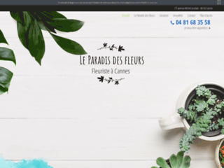 fleuriste-leparadisdesfleurs.fr