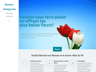 Détails : Livraison des fleurs à Monaco