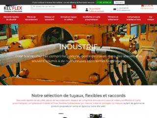 L'interface de vente en ligne de Kel'flex