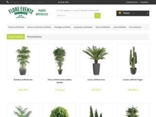 Détails : Vente en ligne de plantes artificielles reproduisant l'univers des plantes naturelles