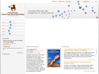 Détails : Fondation création d'entreprise
