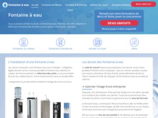 Détails : Faire installer une fontaine à eau par des pros