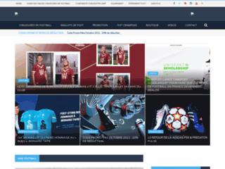 Foot Inside, Site d'actualité sur les chaussures de football et maillot de foot