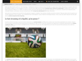 Détails : Foot streaming: regarder des matchs de foot en streaming