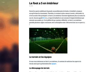 Détails : Foot5france