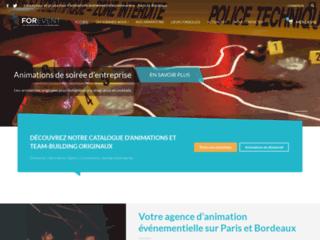 Détails : For Event, animation événementielle