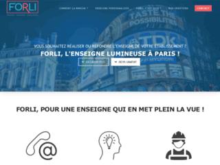 Détails : Forli: spécialiste d'enseignes