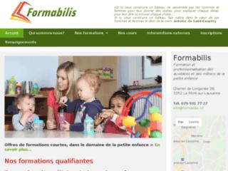 Institut Formabilis: initiation aux professions de la petite enfance