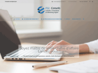 FGL Conseils Formation wordpress Lyon