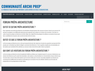 Détails : Choisir une école de prépa en architecture