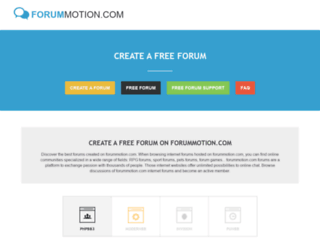http://forummotion.com