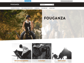 Détails : Fouganza : Equipements d'équitation pour le cavalier et son cheval