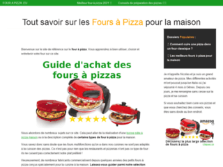 Détails : Le site de référence des fours à pizza