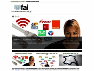 Comparatif Fournisseur Acces Internet