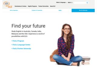 Détails : Apprenez l'anglais lors d'un séjour linguistique avec ELS