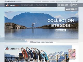 Détails : Eurosports Diffusion : le spécialiste des vêtements de sport