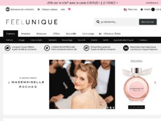 Détails : Produits de beauté de luxe