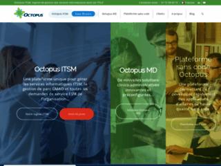 Détails : Octopus-ITSM, logiciel intégré ITSM et GMAO