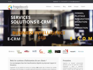 Détails : Fragolaweb : Solutions CRM & E-commerce