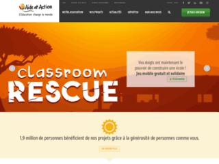 Association humanitaire en France - Aide et Action