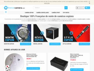 Vente de Caméra Espion ! Mini et micro Caméra de surveillance - FranceCamera.com