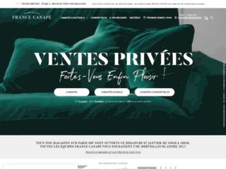 Détails : France Canapé, la référence des fauteuils et canapés personnalisés