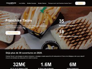 Franchise Tacos : ouvrir un tacos halal | Chamas Tacos