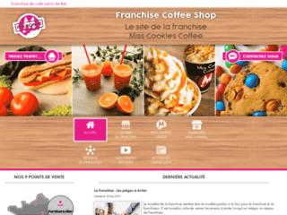 Détails : Miss Cookies Coffee : franchise de salon de thé