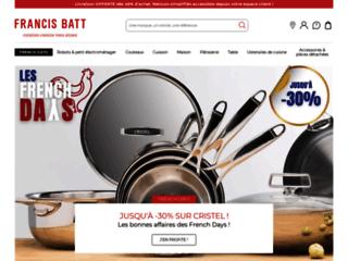 Détails : Francis Batt : Accessoires de cuisine professionnels