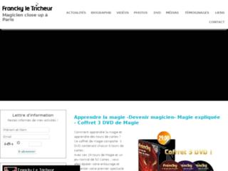 Magicien Francky Le tricheur