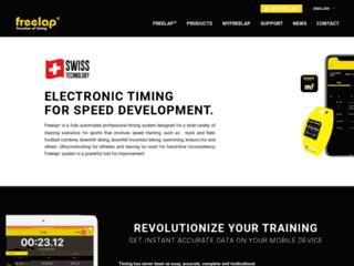 Freelap, système de chronométrage automatique par transpondeur