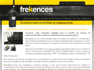 frekences - Location de talkies walkies