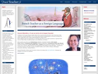 Détails : Pascale Ribardière, professeur de français à Paris