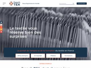 French Tex, emplois, métiers et formation de la filière textile