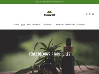 Frenchy cbd site spécialisé dans la vente d'huile, de fleurs et de résines de cbd