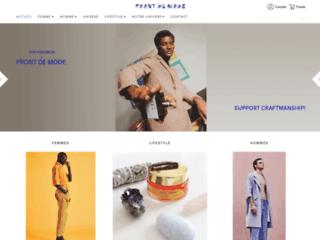 Front de Mode, boutique de vêtements écologiques à la mode