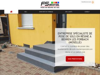 FS Deco'Sol : Entreprise spécialisée dans la pose de sols en résine en Moselle