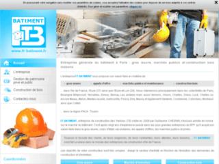 Entreprise du bâtiment: gros œuvre, maintenance 78