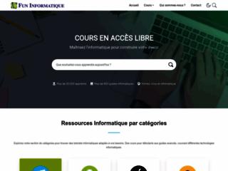 FunInformatique, votre plateforme des tutoriels informatiques