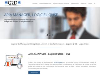 Éditeur de Solutions de Management Intégré  - Solution logicielle GRC