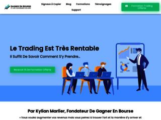 Gagner En Bourse est un blog en ligne qui vous permet de devenir rentable en bourse