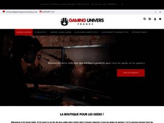 Détails : Vêtements geeks pour tous