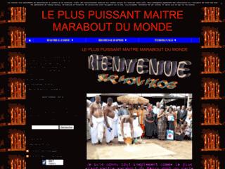LE PLUS PUISSANT MAITRE MARABOUT DU MONDE