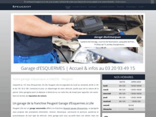 Détails : Garage d'Esquermes, garage mécanique Peugeot à Lille