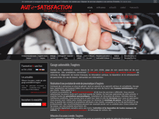 Détails : Garage Auto satisfaction à Lécousse