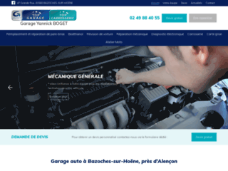 Détails : Garage auto à Bazoches-sur-Hoëne, près d'Alençon