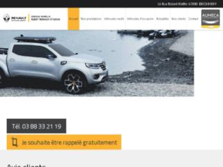 Détails : Garage concession Renault et Dacia à Strasbourg
