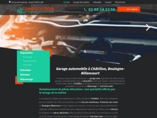 Garage automobile à Châtillon, Boulogne-Billancourt