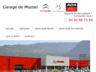 Détails : Garage Citroën de Mussel